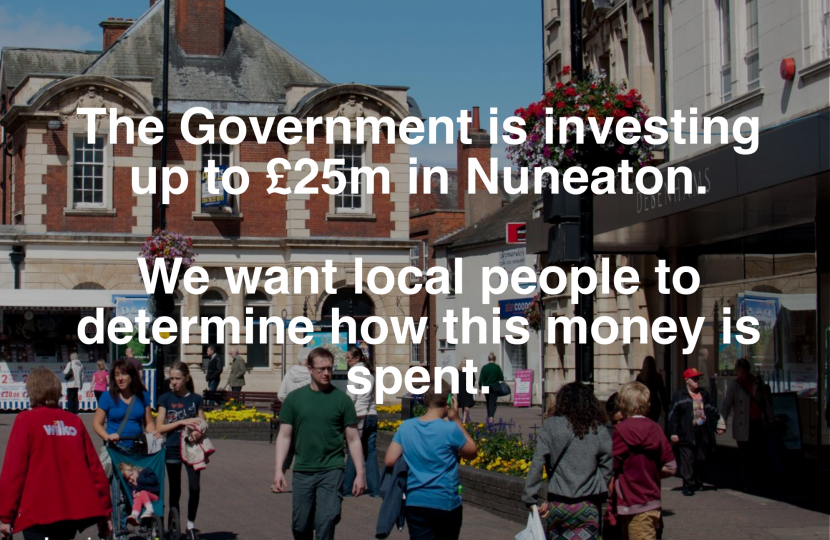 £25 million for Nuneaton #MyTown